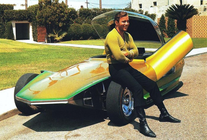 james t kirk's future car
