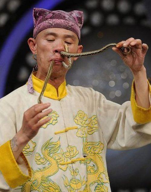 nasal snake
