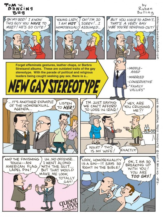 new gay stereotype