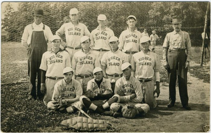 nigger island baseball team 700x442 nigger island baseball team