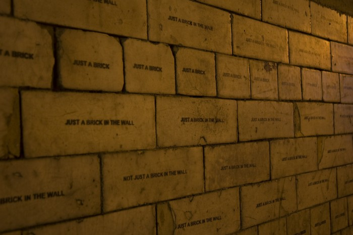 not just a brick in the wall