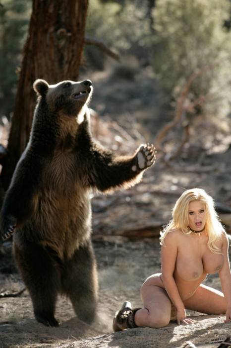 nsfw - bear likes nude