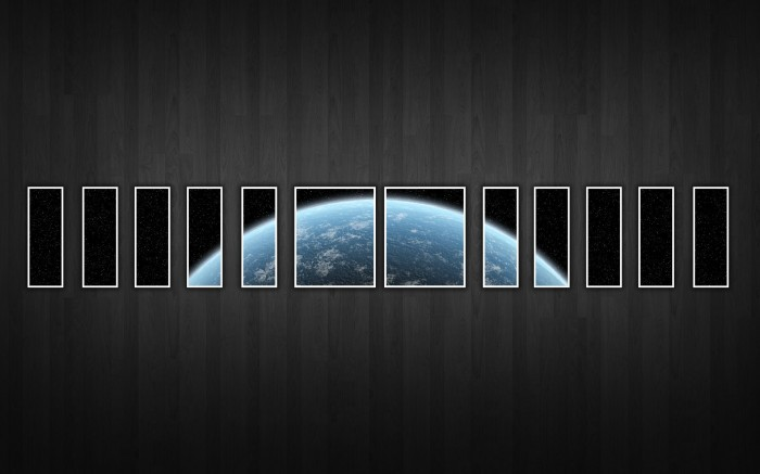 space earth windows