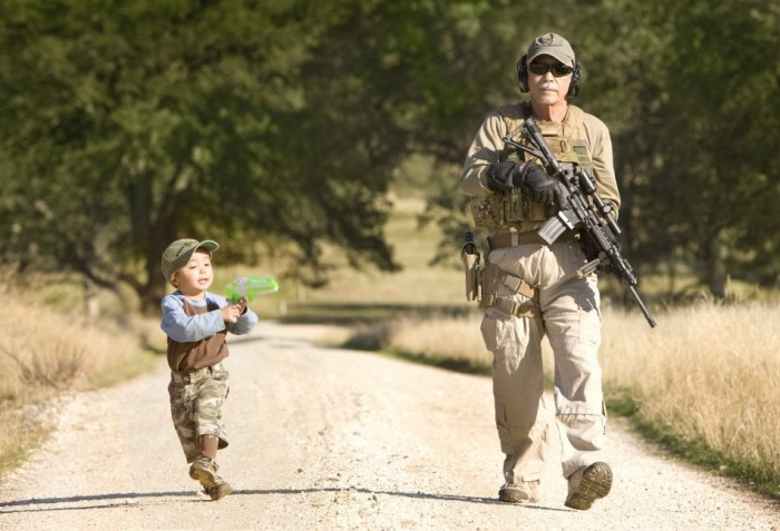 young military operator