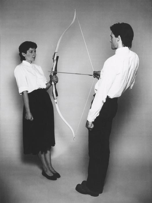 bow and arrow couple