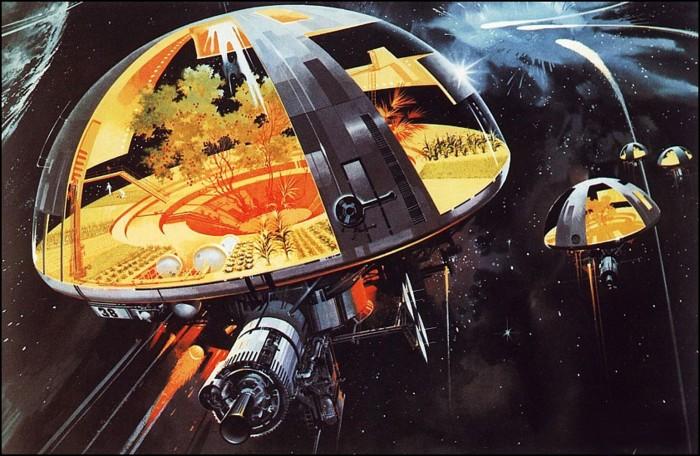 environmental space ships