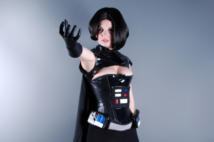 female darth vader 700x467 female darth vader star wars Sexy cosplay