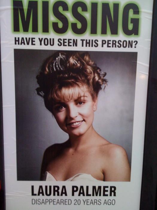 missing have you seen this person - laura palmer