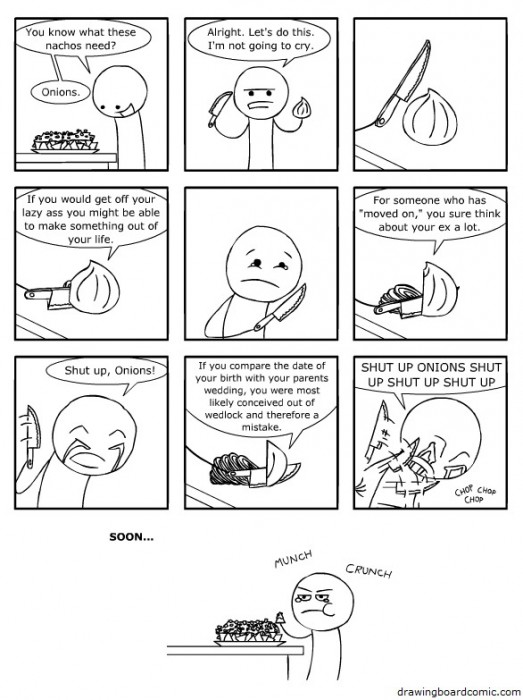 onions make you cry