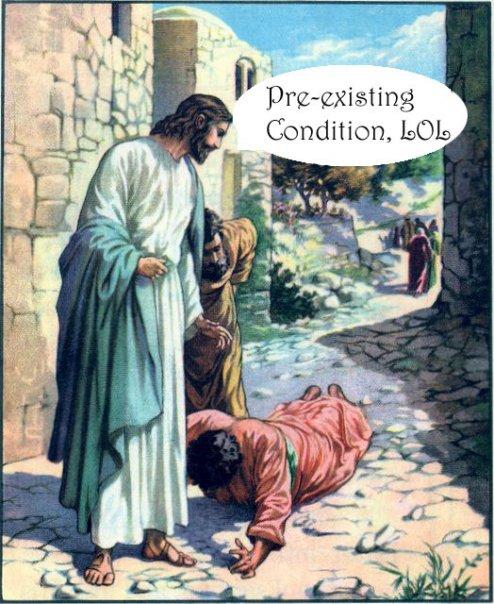pre-exisiting condition, lol