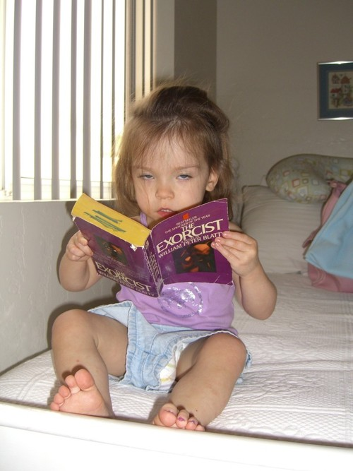 the exorcist baby reader
