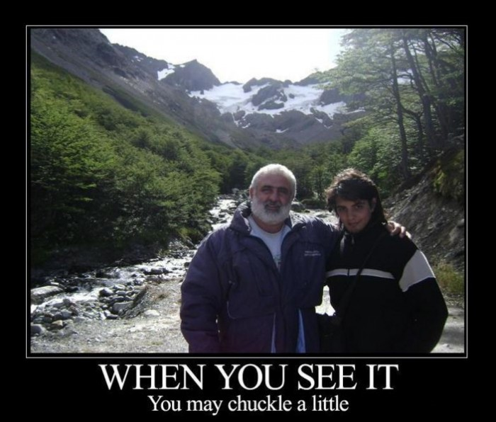 when you see it, you may chuckle a little