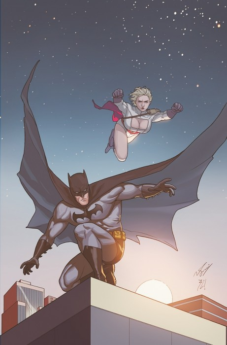 batman and powergirl