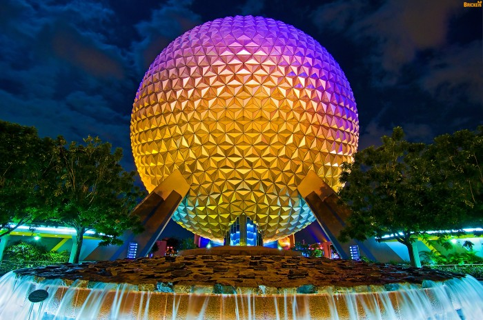 epcot - world of tomorrow wallpaper