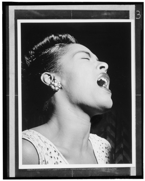 Billie Holiday Feb 1947 563x700 Billie Holiday Feb 1947 Sexy Music