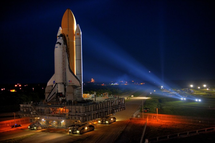 Discovery being prepped for STS-133