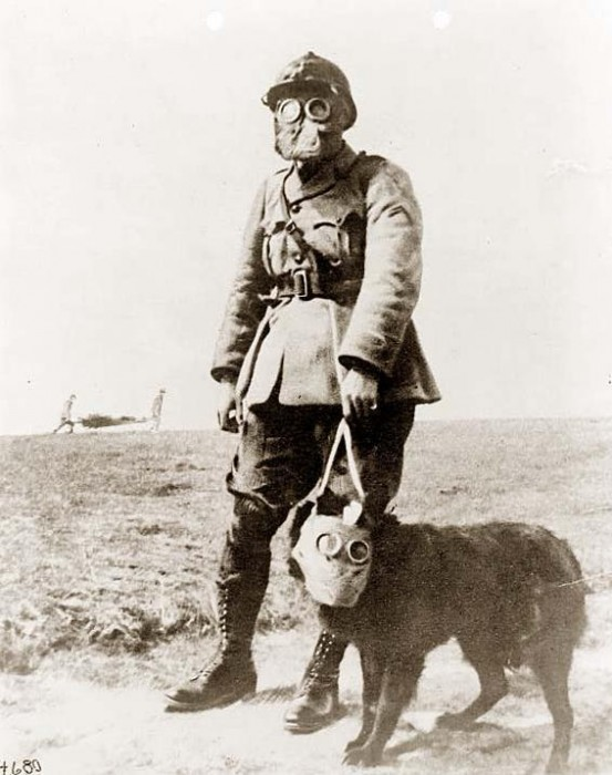 Soldier - French Gasmask