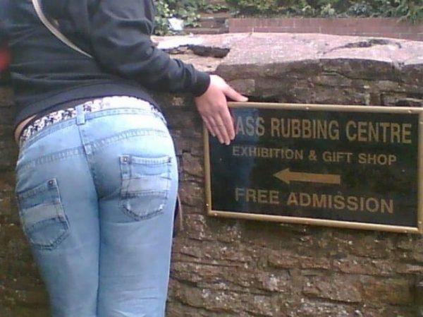 ass rubbin centre