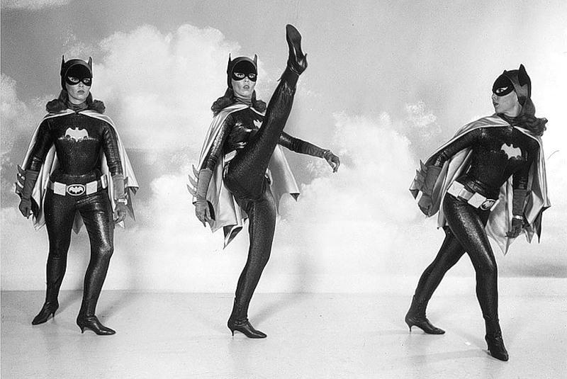 batgirl high kick