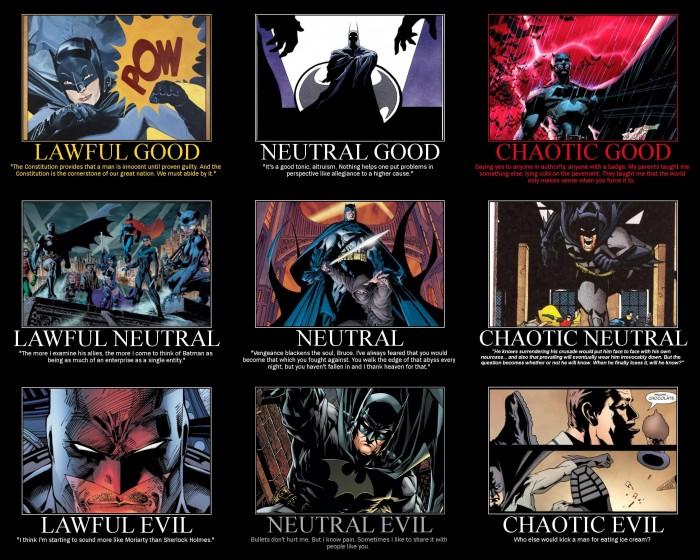batman alignments