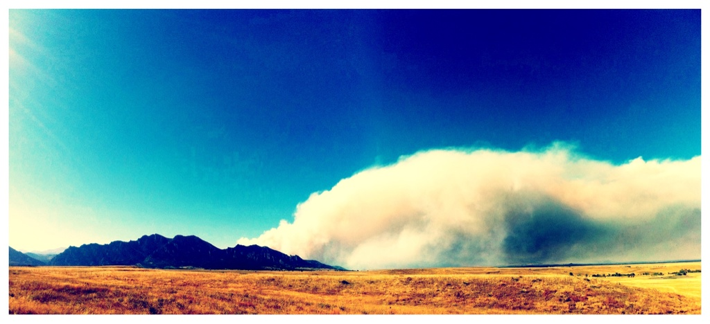 boulderfire Boulder wildfire Nature