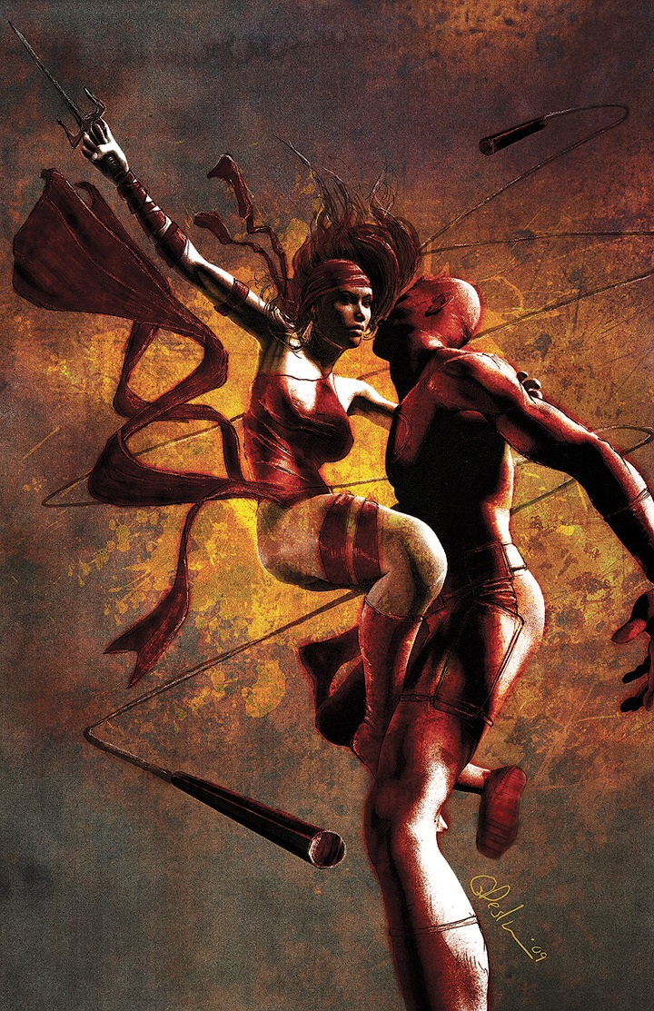 daredevil and elektra daredevil and elektra elektra Daredevil Comic Books