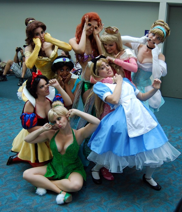 disney princesses being unprincess like 599x700 disney princesses being unprincess like