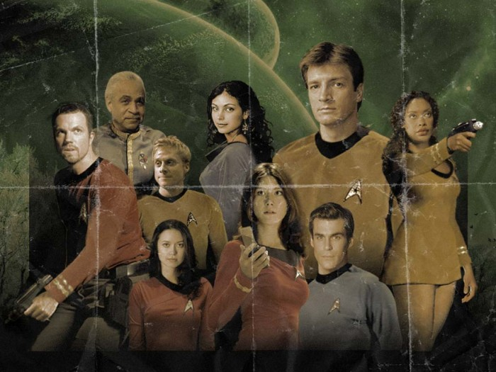 firefly star trek mash up
