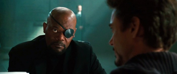 iron man 2 - nick fury isn't happy