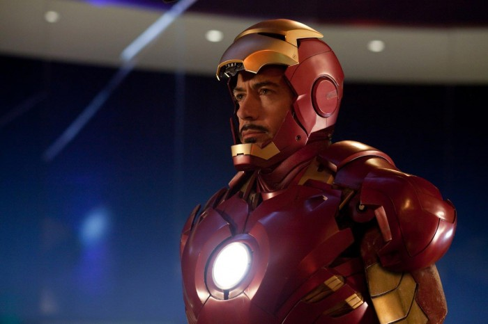 iron man 2 - tony in the suit