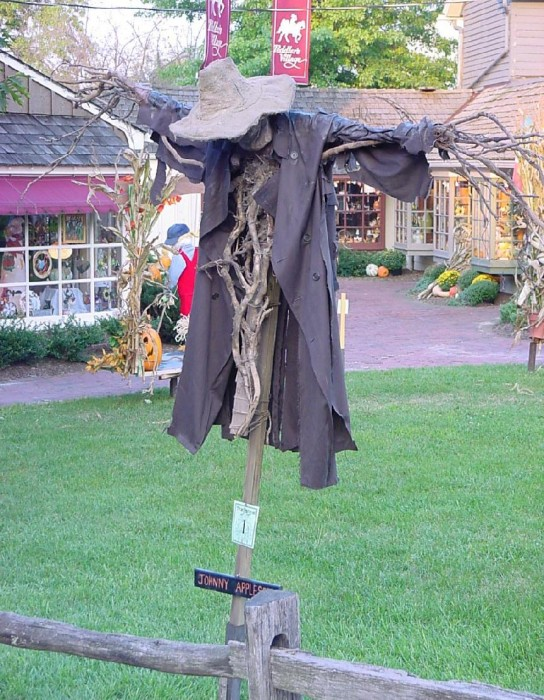 johnny appleseed scarecrow