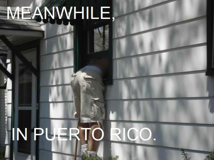 meanwhile, in puerto rico