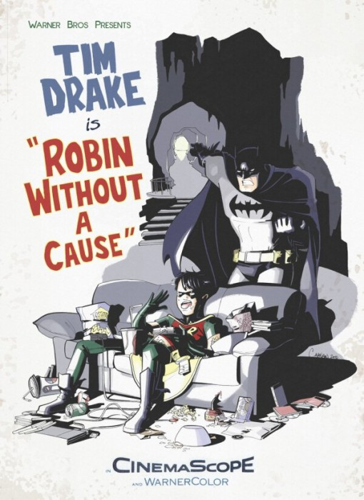 tim drake is Robin Without A Cause