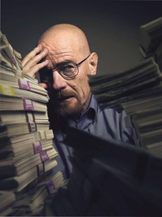 Breaking Bad Money Stacks 523x700 Breaking Bad   Money Stacks