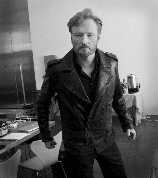 Conan in Leather Jacket