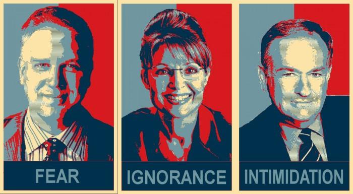 Fear Ignorance Intimidation