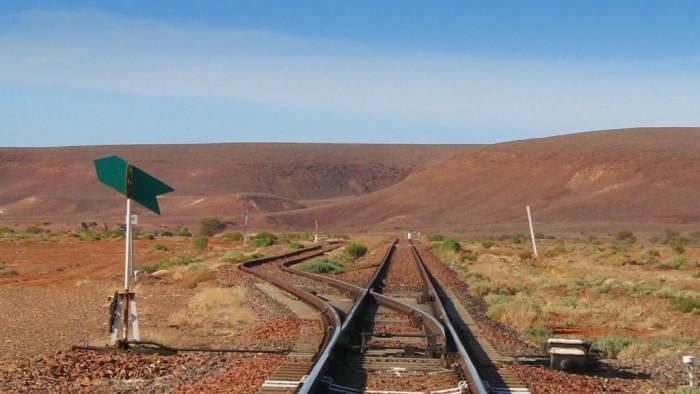 South Australia Railway Track Signal