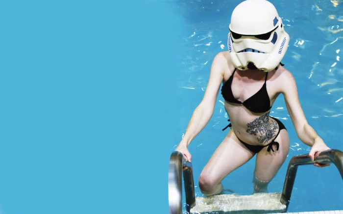 Storm Trooper Bikini Wallpaper