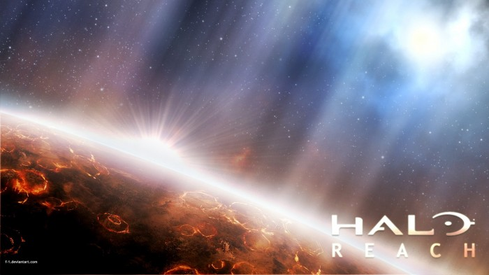 halo reach sun rise 700x393 halo reach   sun rise Wallpaper halo Gaming