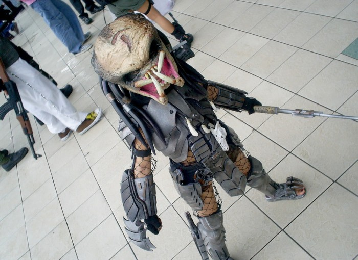 predator cosplayer