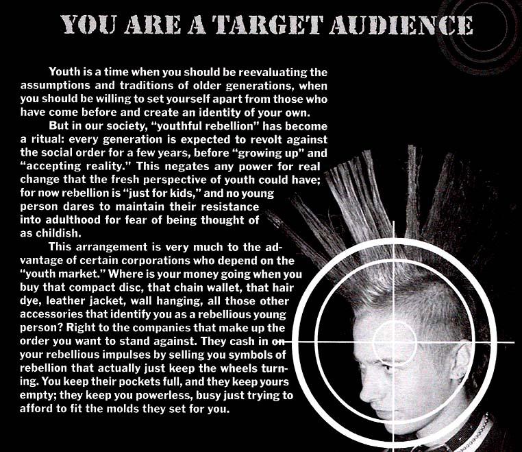 target audience profile. target audience profile