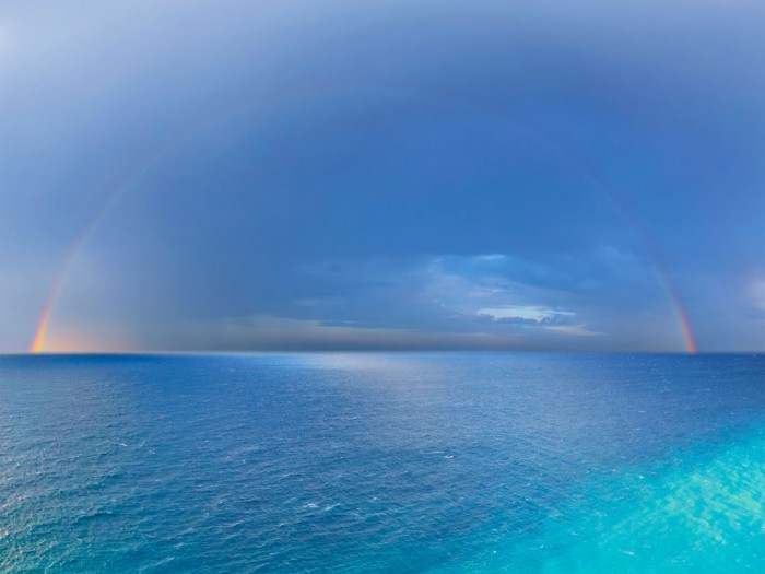 complete rainbow 700x525 complete rainbow Wallpaper rainbows Nature