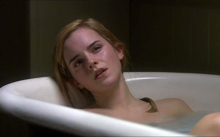 emma watson in the tub