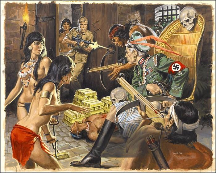 nazi jungle king