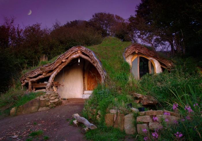 hobbit home wallpaper