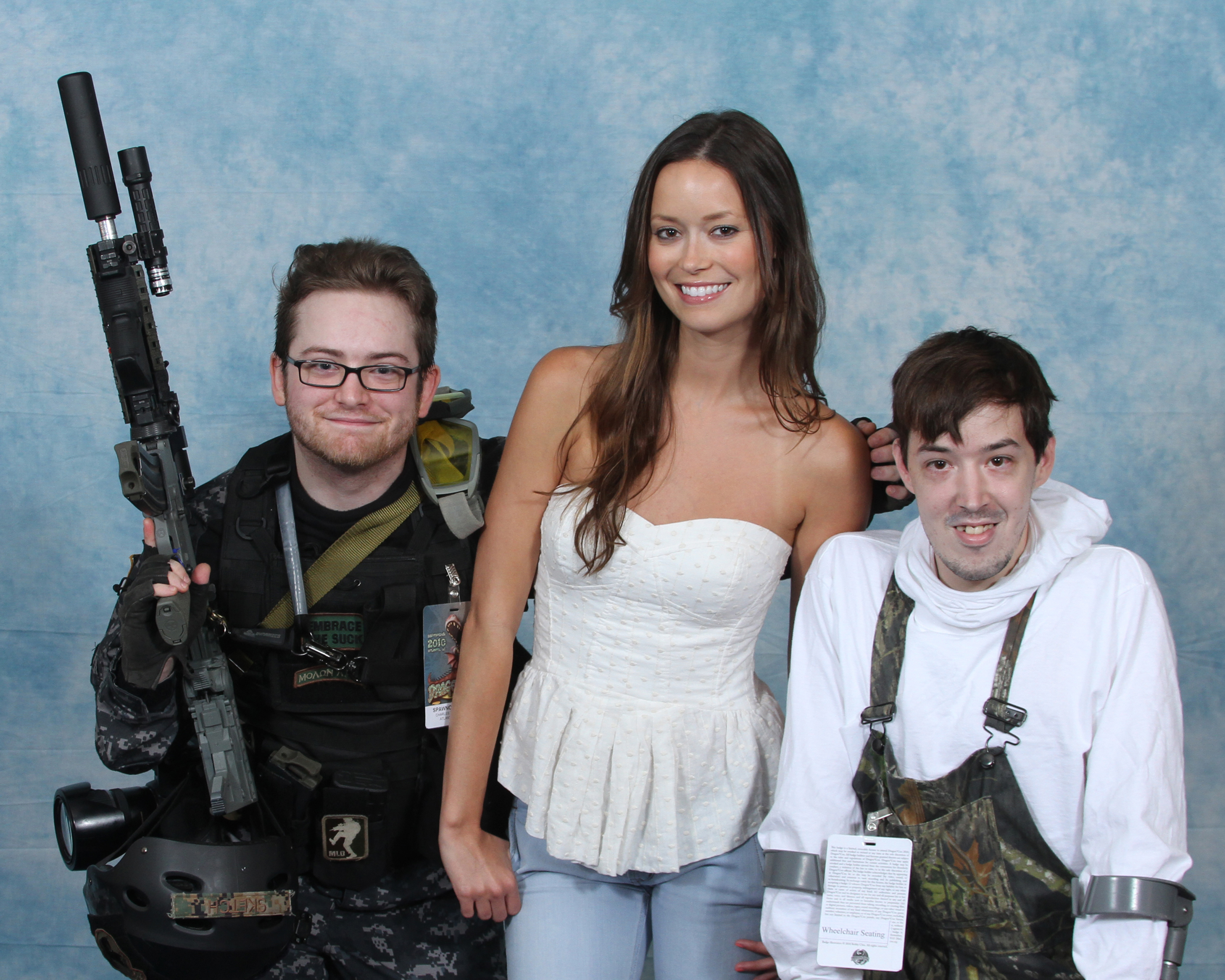 summer glau and cosplay fans