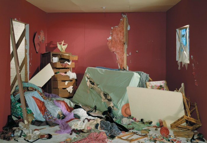 tossed room