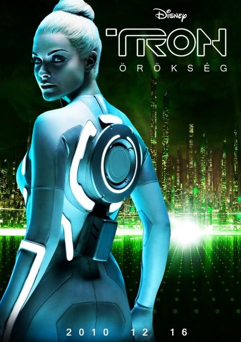 Tron Legacy - movie poster - Jem - Beau Garret