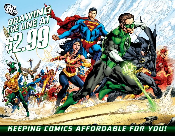 dcu drawing the line at 2.99