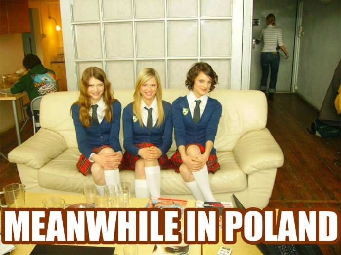 meanwhile - in poland